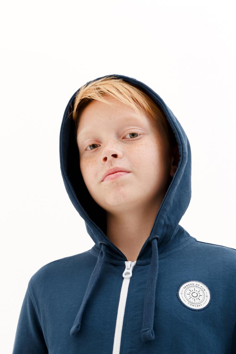 Толстовка для мальчика Concept Club Onion, цвет:  синий.  10110130007_500.  Размер 140 Concept Club