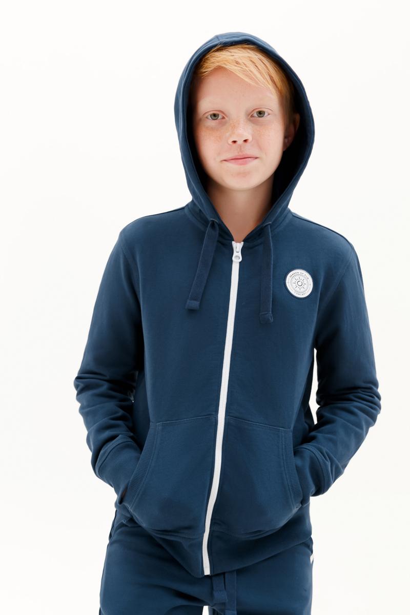 Толстовка для мальчика Concept Club Onion, цвет: синий. 10110130007_500. Размер 152 толстовка для мальчика acoola corbusier цвет синий 20110170041 500 размер 152