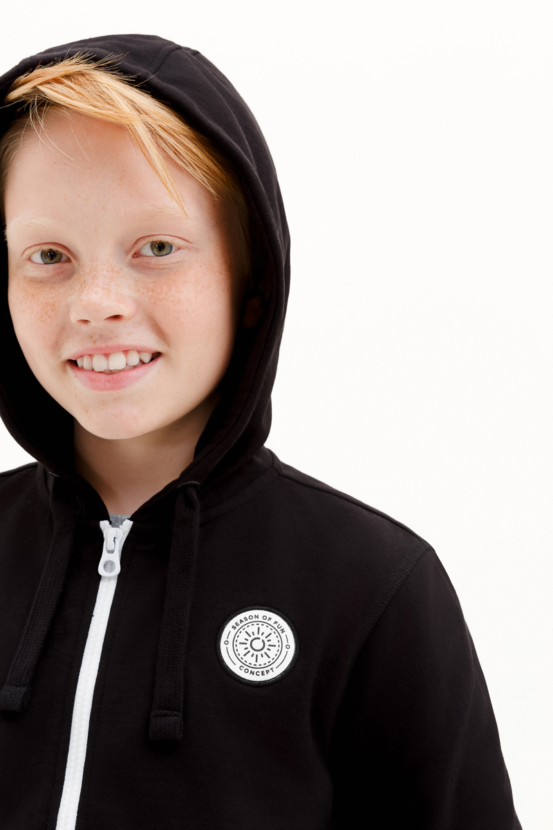 Толстовка для мальчика Concept Club Onion, цвет:  черный.  10110130007_100.  Размер 170 Concept Club