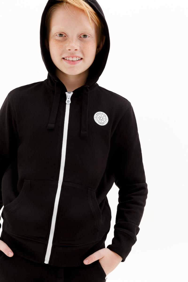 Толстовка для мальчика Concept Club Onion, цвет: черный. 10110130007_100. Размер 170