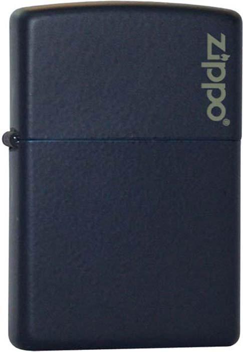 Зажигалка Zippo Classic, цвет: синий, 3,6 х 1,2 х 5,6 см. 18920