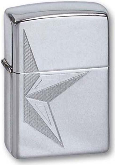 Зажигалка Zippo Classic, цвет: серебристый, 3,6 х 1,2 х 5,6 см. 260 HALP STAR