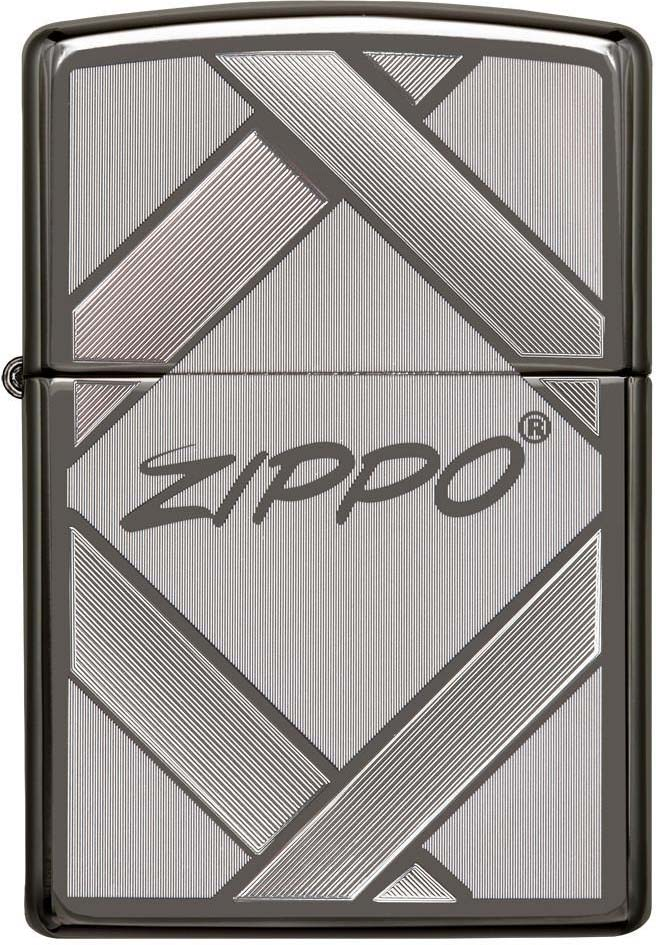 Зажигалка Zippo Classic , цвет: черный, 3,6 х 1,2 х 5,6 см. 29941