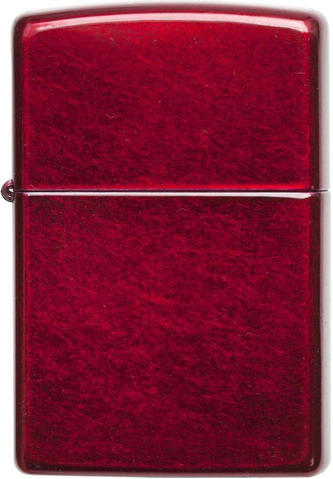 Зажигалка Zippo Classic, цвет: красный, 3,6 х 1,2 х 5,6 см. 30541 zippo zippo 21063