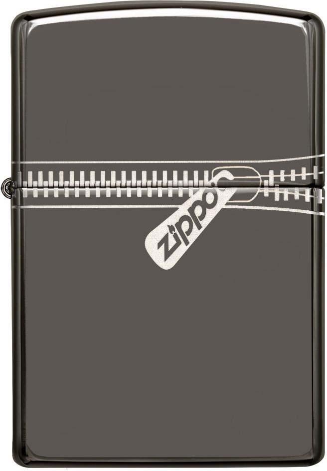 Зажигалка Zippo Classic , цвет: черный, 3,6 х 1,2 х 5,6 см. 30548