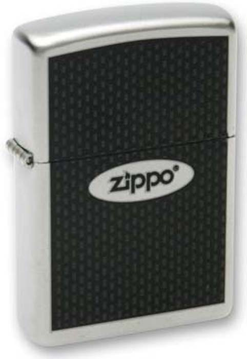 Зажигалка Zippo Zippo Oval, цвет: серебристый, 3,6 х 1,2 х 5,6 см. 205 ZIPPO OVAL CHROMED OUT