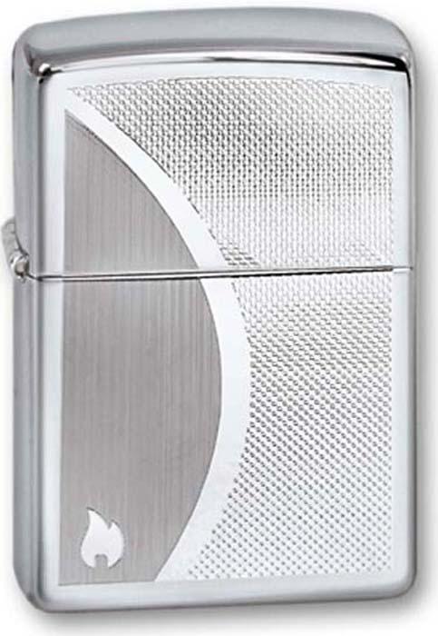 Зажигалка Zippo Classic, цвет: серебристый, 3,6 х 1,2 х 5,6 см. 250 ZIPPO SHADOW GRADIANT