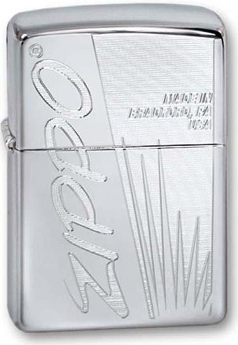 Зажигалка Zippo Classic, цвет: серебристый, 3,6 х 1,2 х 5,6 см. 260 ZIPPO