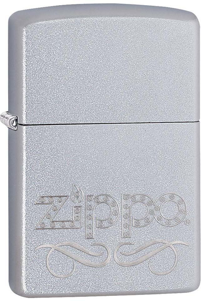 Зажигалка Zippo Classic, цвет: серебристый, 3,6 х 1,2 х 5,6 см. 34943