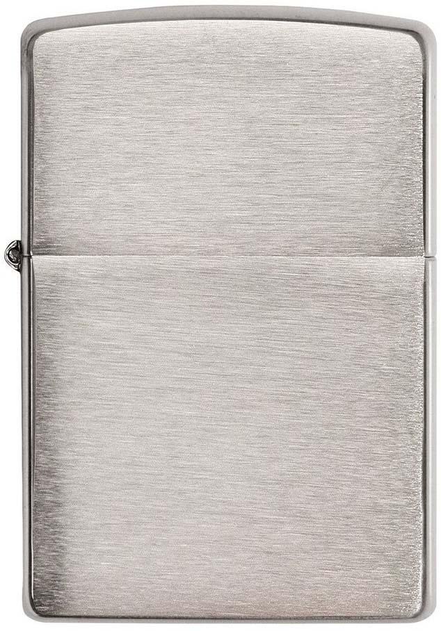 Зажигалка Zippo Zippo, цвет: серебристый, 3,6 х 1,2 х 5,6 см. 200