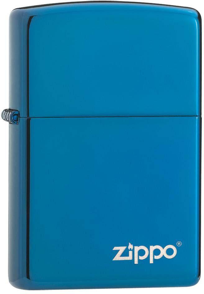 Зажигалка Zippo Classic, цвет: синий, 3,6 х 1,2 х 5,6 см. 37963