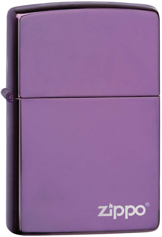 Зажигалка Zippo Classic, цвет: сиреневый, 3,6 х 1,2 х 5,6 см. 38286