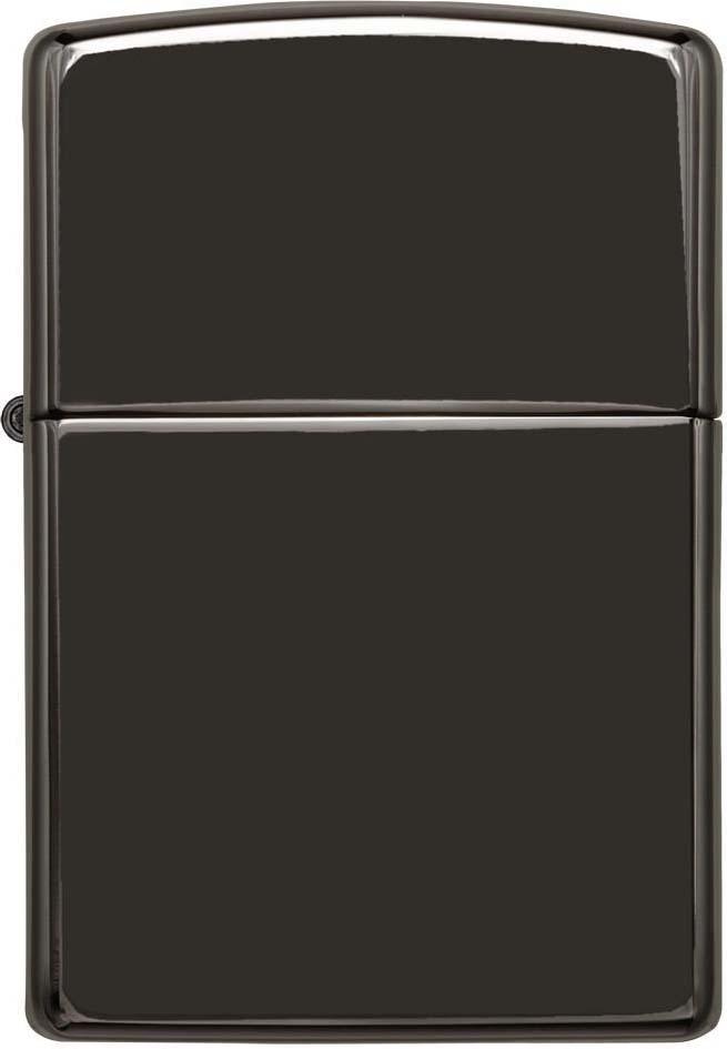 "Фото Зажигалка Zippo ""Classic"", цвет: черный, 3,6 х 1,2 х 5,6 см. 39381"