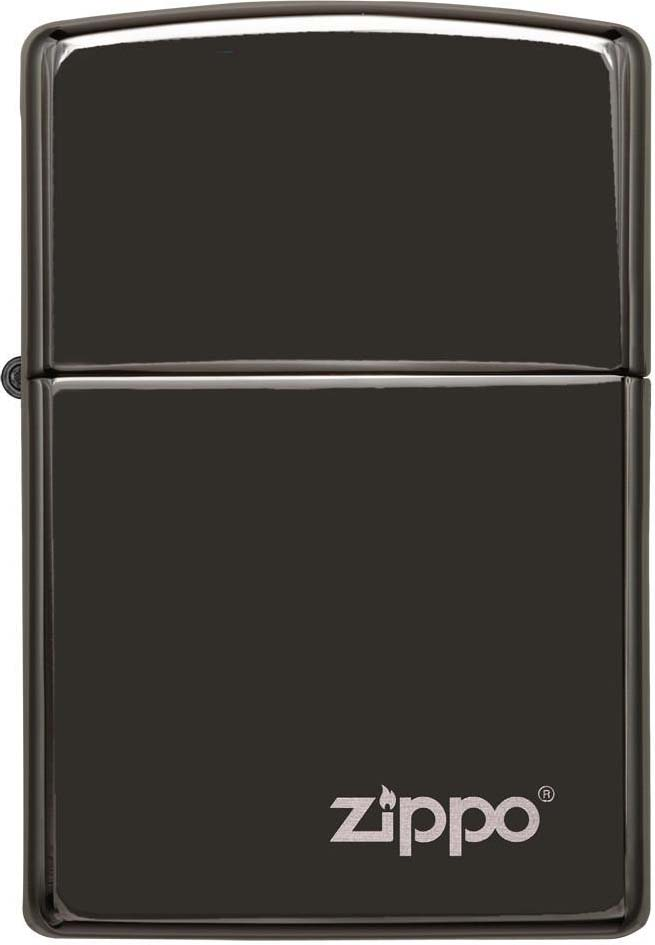 Зажигалка Zippo Classic, цвет: черный, 3,6 х 1,2 х 5,6 см. 39382