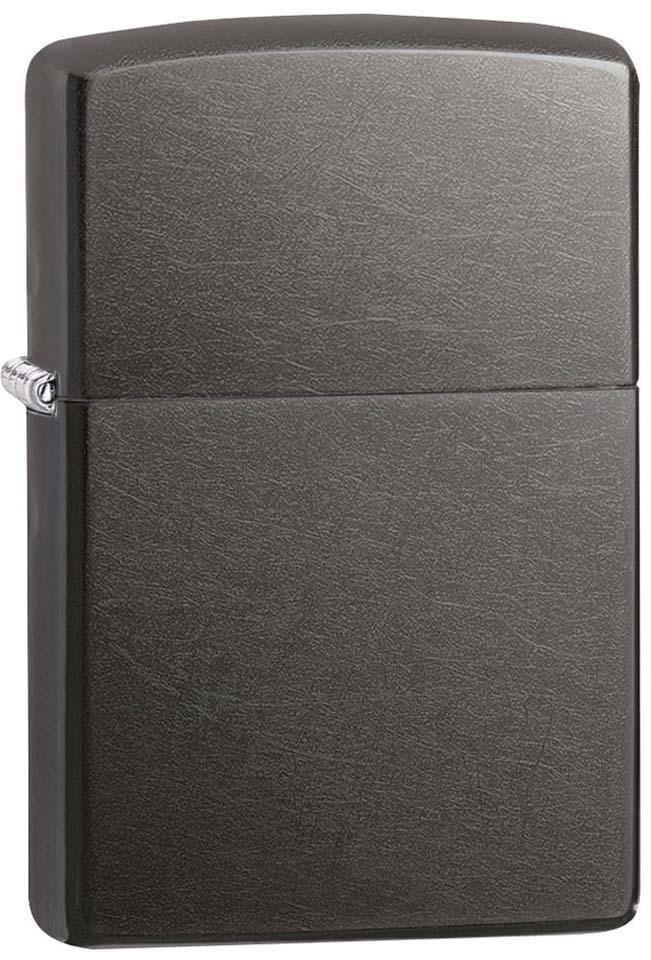 Зажигалка Zippo Classic, цвет: серый, 3,6 х 1,2 х 5,6 см. 40161