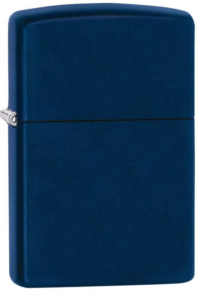 Зажигалка Zippo Classic, цвет: синий, 3,6 х 1,2 х 5,6 см. 45565
