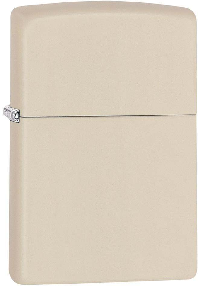 Зажигалка Zippo Classic, цвет: светло-бежевый, 3,6 х 1,2 х 5,6 см. 47058