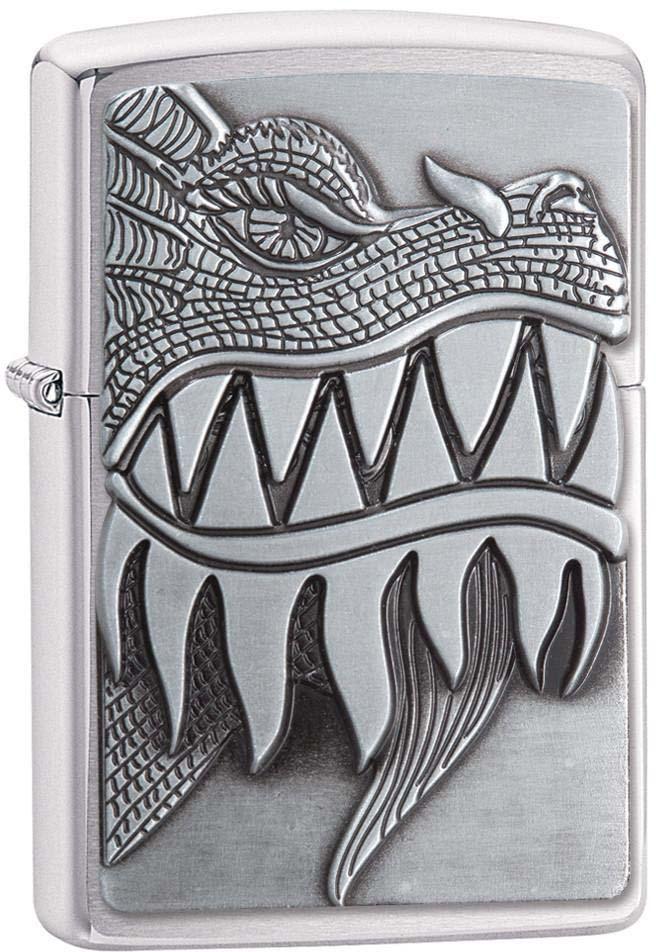 Зажигалка Zippo Classic, цвет: серебристый, 3,6 х 1,2 х 5,6 см. 49664