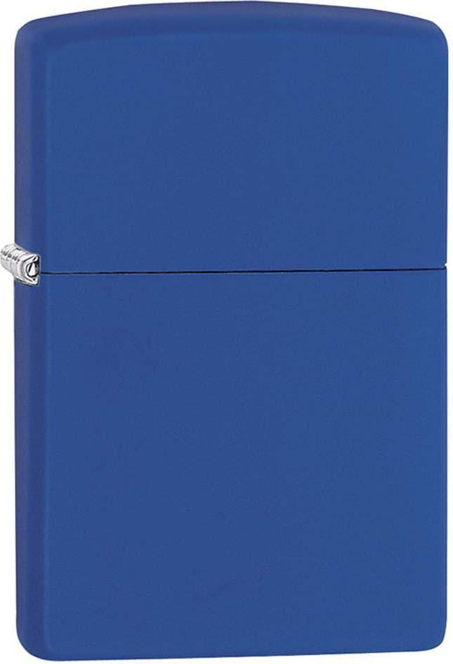 Зажигалка Zippo Classic, цвет: синий, 3,6 х 1,2 х 5,6 см. 51440