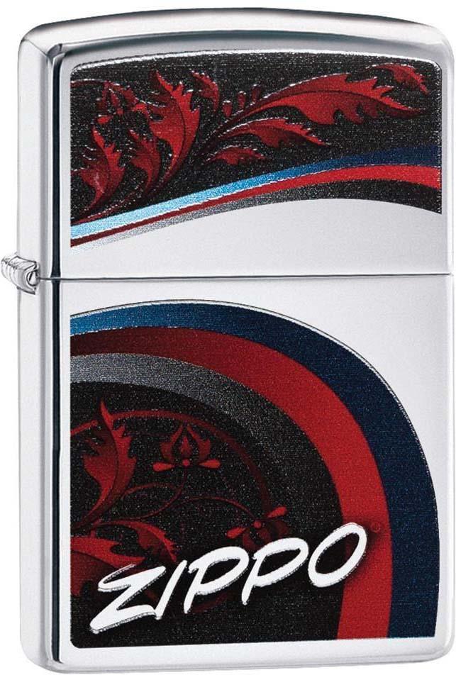 Зажигалка Zippo Classic, цвет: серебристый, 3,6 х 1,2 х 5,6 см. 52902