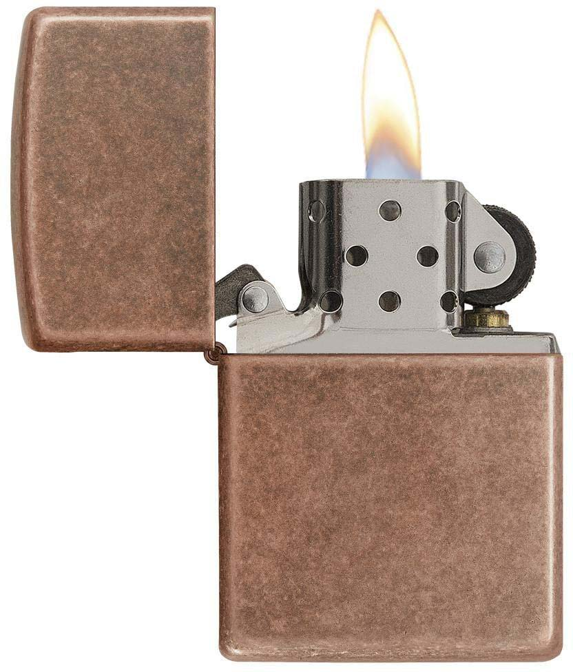 Зажигалка Zippo Classic, цвет: медный, 3,6 х 1,2 х 5,6 см. 53591