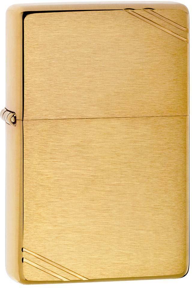 Зажигалка Zippo 1937 Vintage, цвет: золотистый, 3,6 х 1,2 х 5,6 см. 779