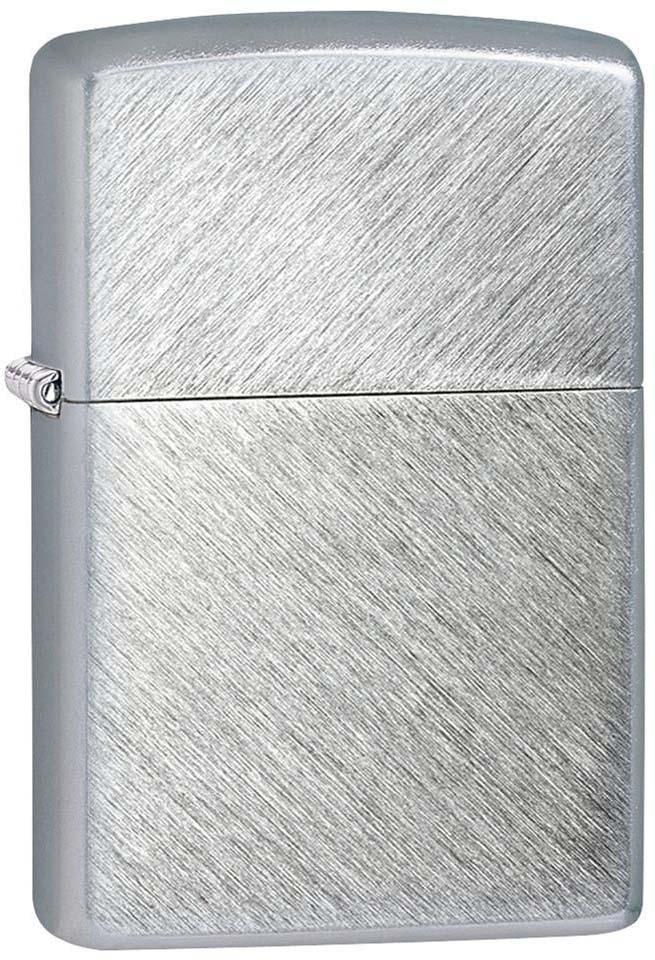 Зажигалка Zippo, цвет: серебристый, 3,6 х 1,2 х 5,6 см. 37158