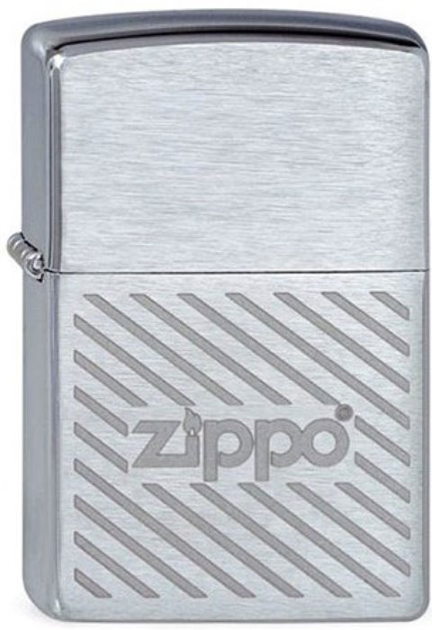 Зажигалка Zippo Stripes, цвет: серебристый, 3,6 х 1,2 х 5,6 см. 46315 6pcs lot ut81b handheld digital scope multimeter ut 81b lcd oscilloscope universal meter tester