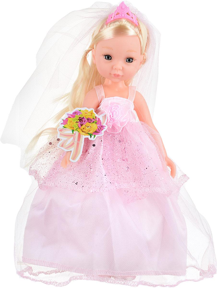 Veld-Co Кукла Isabella Блондинка цвет одежды розовый veld co игровой набор с мини куклой my lovely princess цвет одежды сиреневый розовый голубой