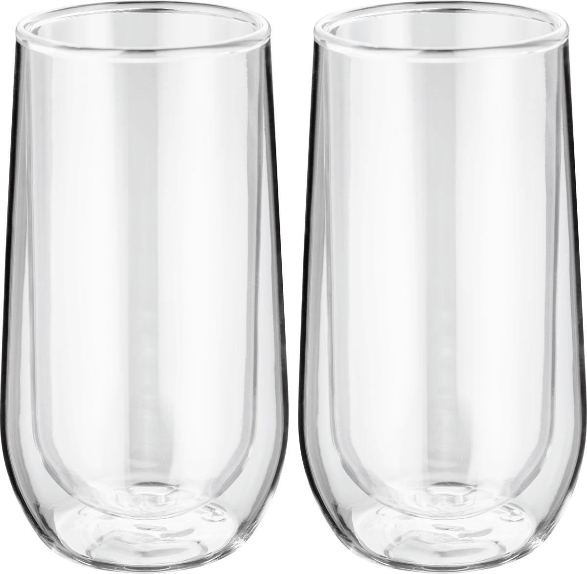 Стеклянная термопосуда с двойными стенками сохраняет температуру напитка, не обжигает руки. Холодные напитки остаются холодными без дополнительного охлаждения. На стаканах не образуется конденсат. Футуристический дизайн. Закалённое стекло - устойчиво к царапинам и перепадам температур (от 0 до 100 гр. С).