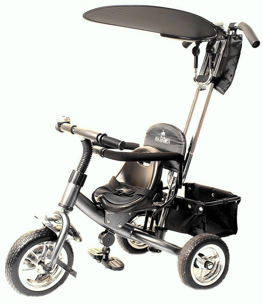 Jetem Детский велосипед Lexus Trike трехколесный цвет графит