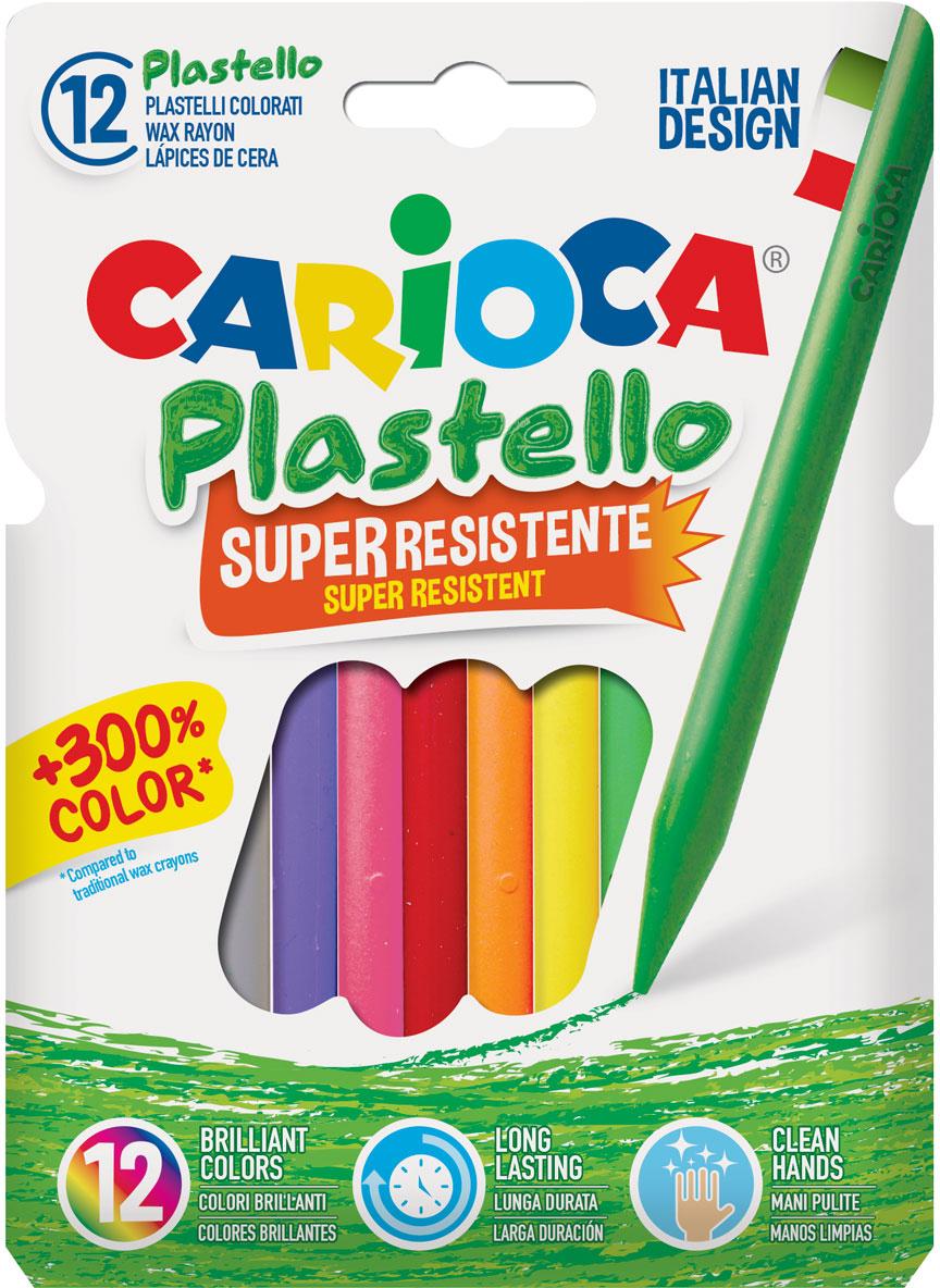 Carioca Набор пластиковых мелков Plastello 12 цветов