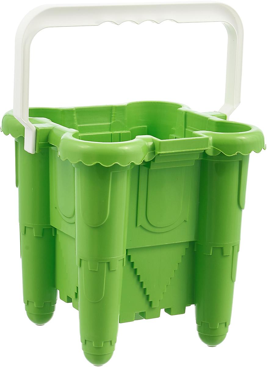 Alex Toys Ведро-крепость № 30 цвет зеленый 2 л бутылка гантеля спортивная irontrue цвет зеленый 2 2 л
