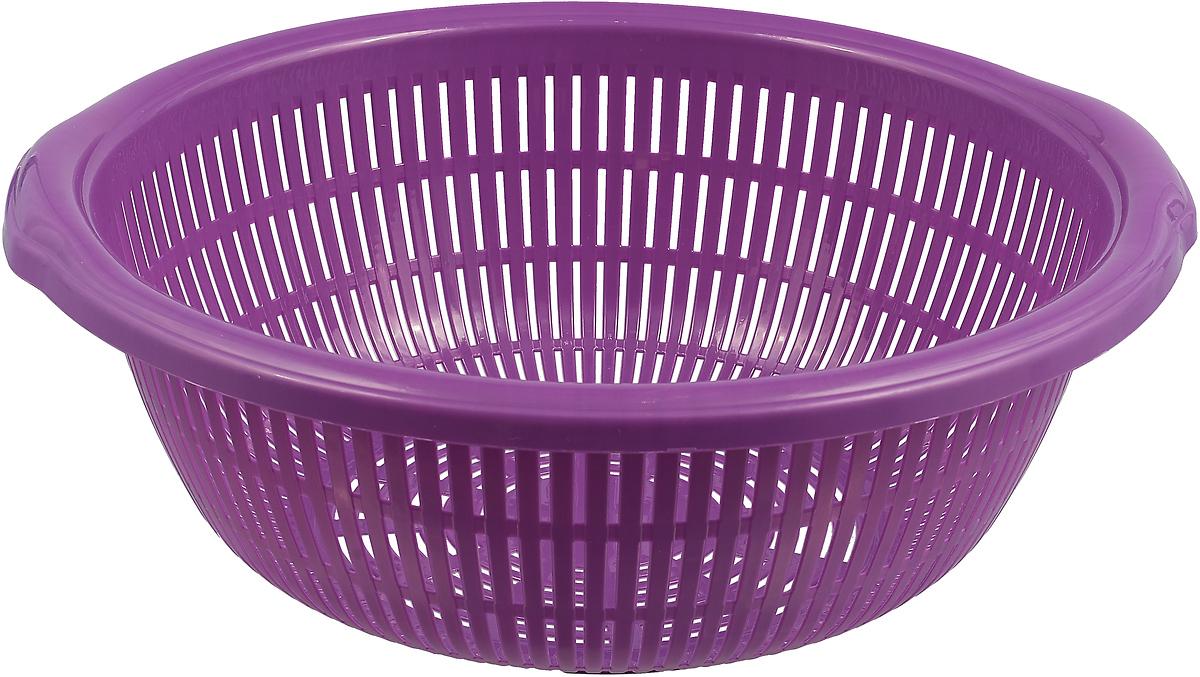 Дуршлаг StarPlast, цвет: фиолетовый, 6 л gangxun фиолетовый цвет
