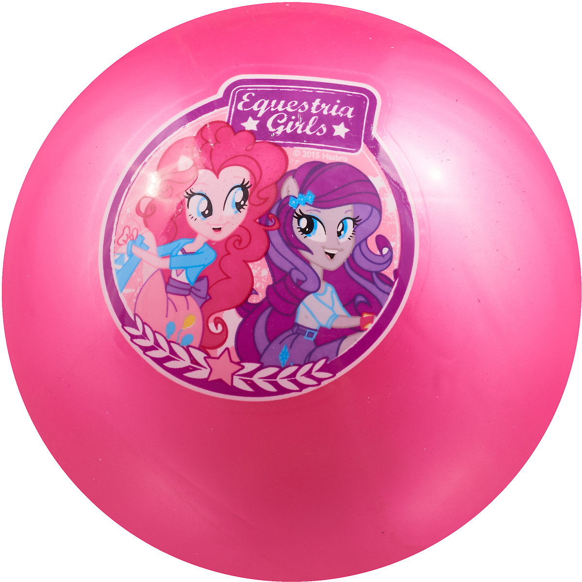 Играем вместе Мяч Мой маленький пони Девочки Эквестрии цвет розовый 23 см AD-9 мяч играем вместе холодное сердце розовый