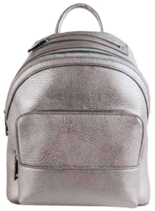 Рюкзак женский Vitacci, цвет: серебряный. BD598 рюкзак женский samsonite рюкзак женский xs karissa 21x28x11 см
