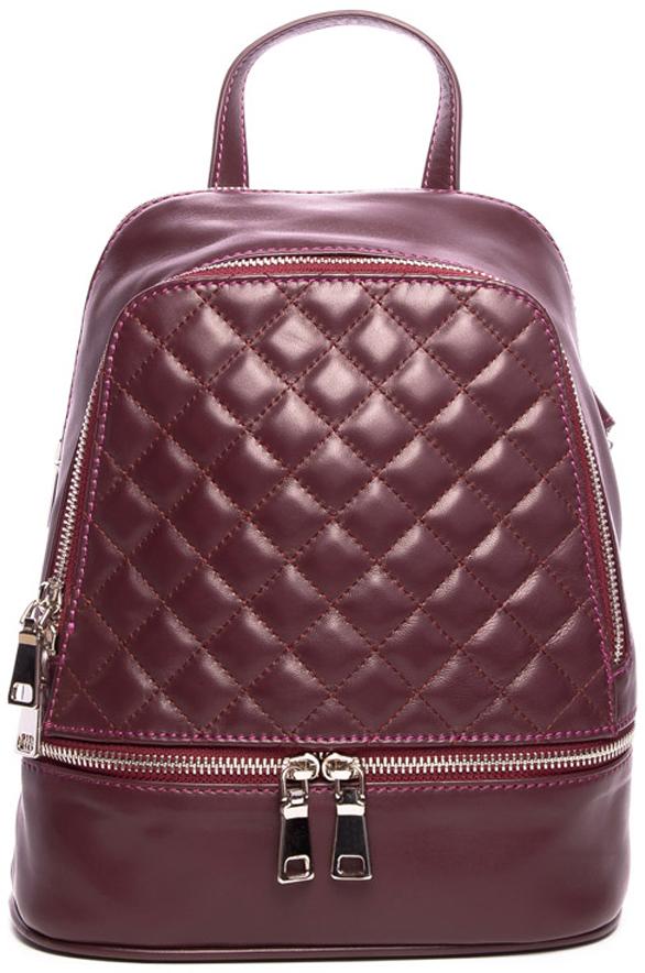 Рюкзак женский Vitacci, цвет: бордовый. PT0042 женский гардероб