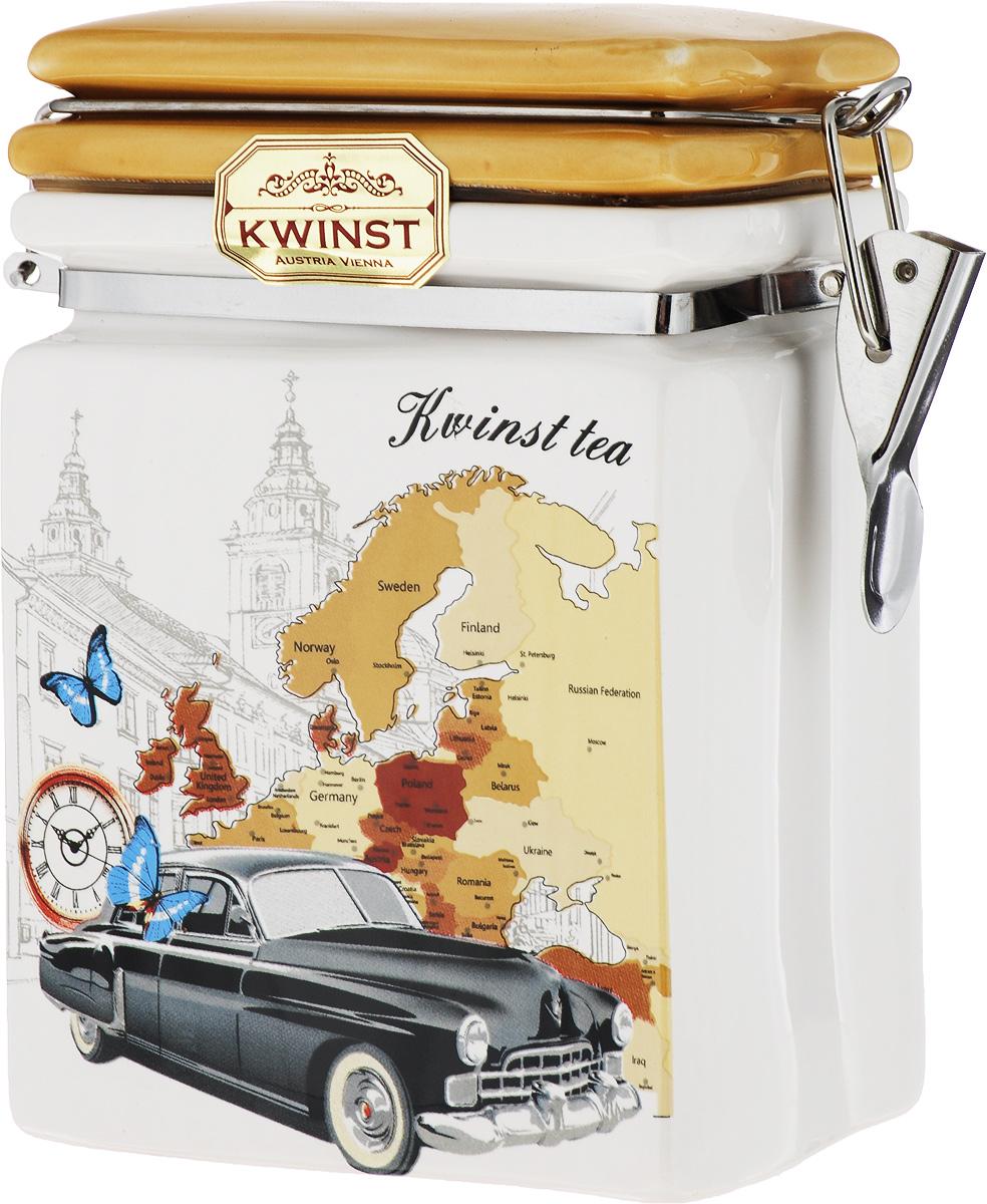 Kwinst Лазурный берег чай черный листовой, 130 г цена