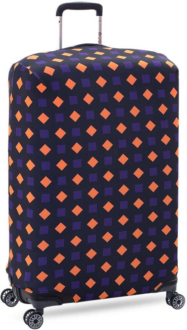 Чехол на чемодан KonAle Ромбики, размер L (высота чемодана: 70-100 см)