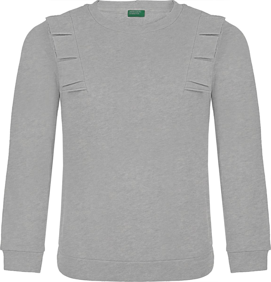 Джемпер для девочки United Colors of Benetton, цвет: серый. 3J68C13YH_501. Размер L (140)