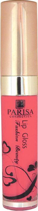 Parisa Блеск для губ LG612, тон №86 красный, 7 мл блески parisa пигментированный блеск для губ тон 27
