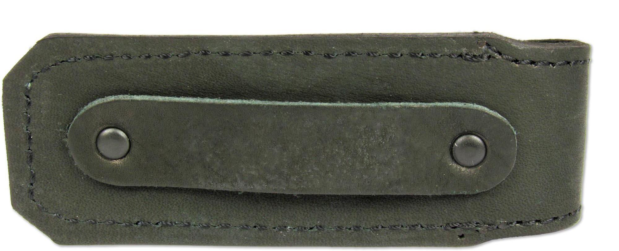 """Чехол """"Ножемир"""" - необходимое средство для надежного хранения и безопасной транспортировки ножа. Выполнен из натуральной кожи. Изделие можно повесить на ремень при помощи специальной петли."""