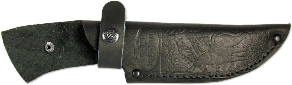 Чехол для нескладного ножа Ножемир, цвет: черный. Чехол №9