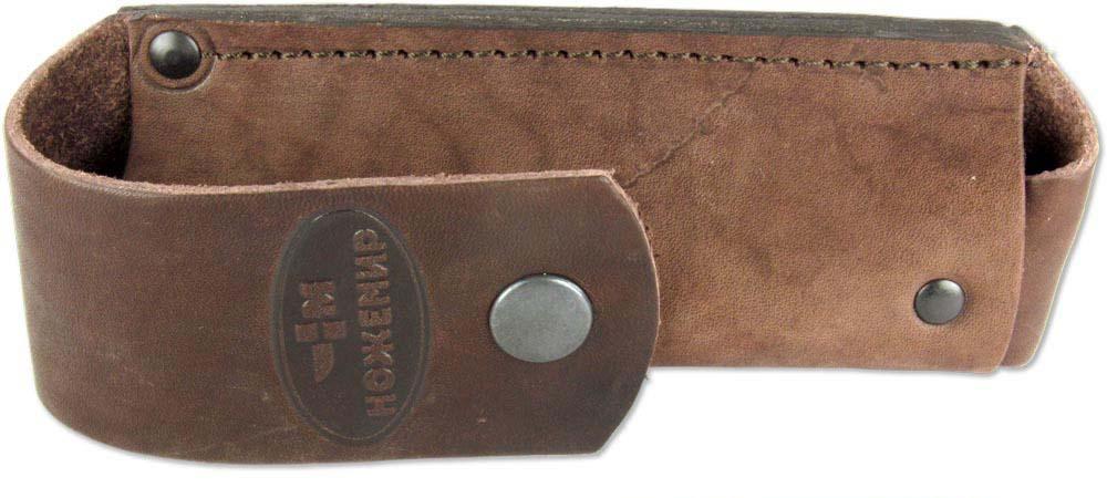 Чехол для складного ножа Ножемир, цвет: коричневый. Чехол №11(к) ножемир таёжник 5939 к