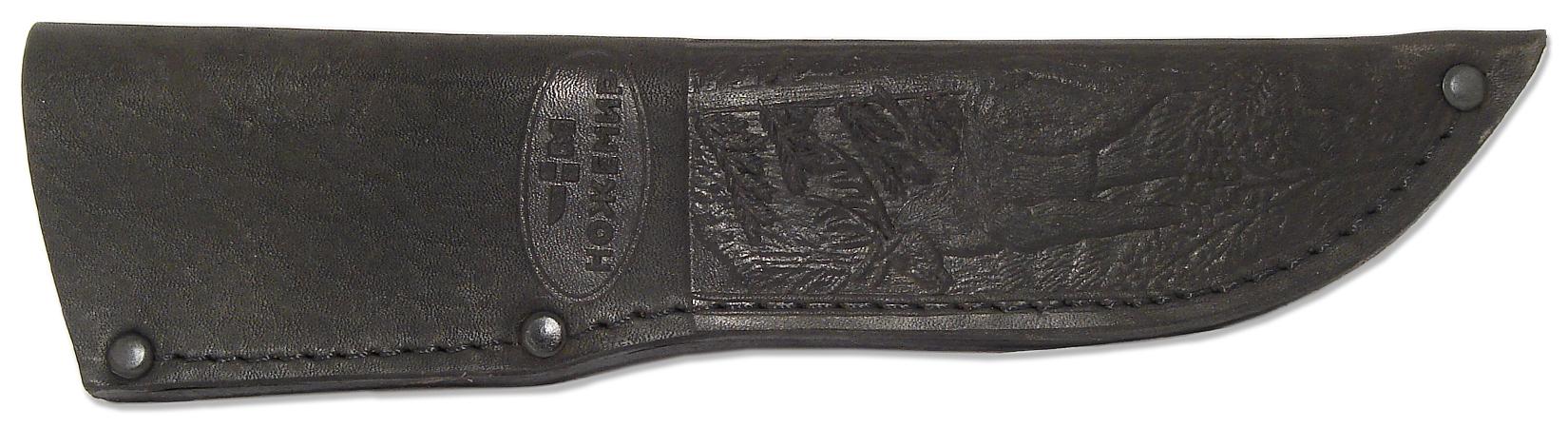 Чехол для нескладного ножа Ножемир, цвет: черный. Чехол №6