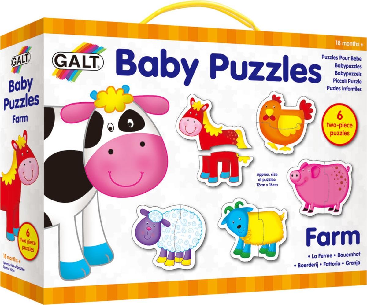 Galt Пазл для малышей Ферма 1003028