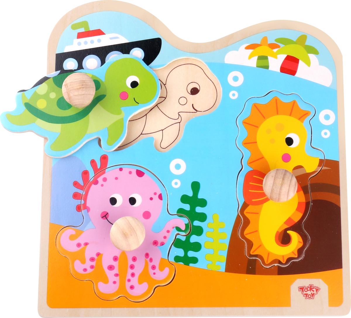 Tooky Toy Пазл Морские обитатели TKG020
