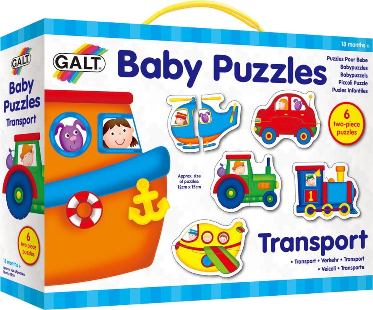 Galt Пазл для малышей Транспорт 1003037