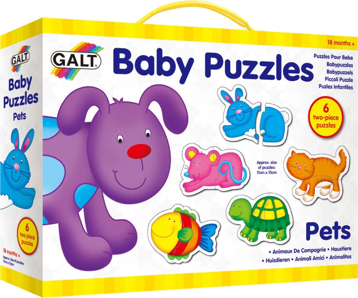 Galt Пазл для малышей Питомцы 1003034