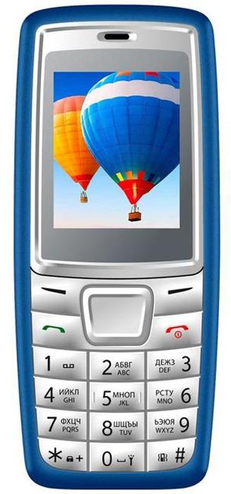 Vertex M111, Blue Grey мобильный телефон vertex d503 черный 2 4